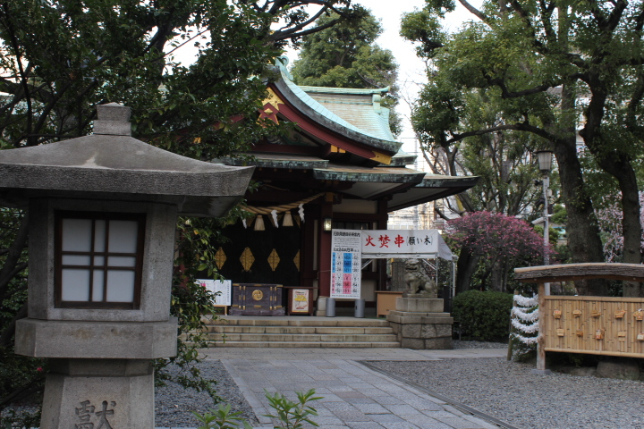 shrine,kamata,hachiman